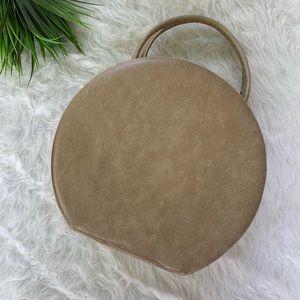 Vintage round plethor purse